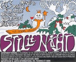 De Dolle Stille Nacht beer Label Full Size