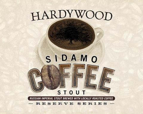 Hardywood Sidamo Coffee Stout beer Label Full Size