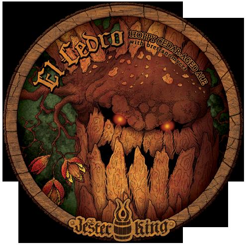 Jester King El Cedro beer Label Full Size