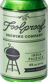 Foolproof Backyahd IPA beer Label Full Size