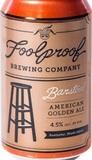 Foolproof Barstool Amber beer
