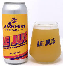 Alarmist Le Jus beer Label Full Size