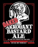 Stone Oaked Arrogant Bastard Beer