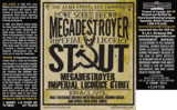 Howe Sound Megadestroyer Imperial Licorice Stout beer