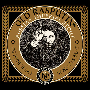 North Coast Old Rasputin Russian Imperial Stout Beer