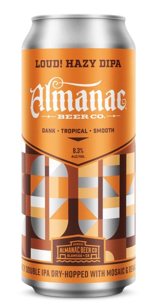 Almanac Loud! beer Label Full Size