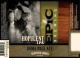 Epic Hopulent IPA beer