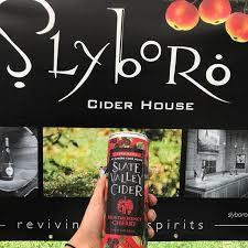 Slyboro Slate Valley Cider Montmorency Cherry beer Label Full Size