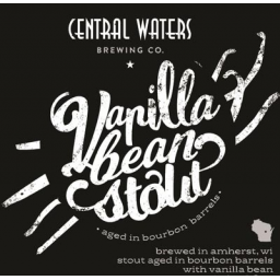 Central Waters Vanilla Bean Stout Beer