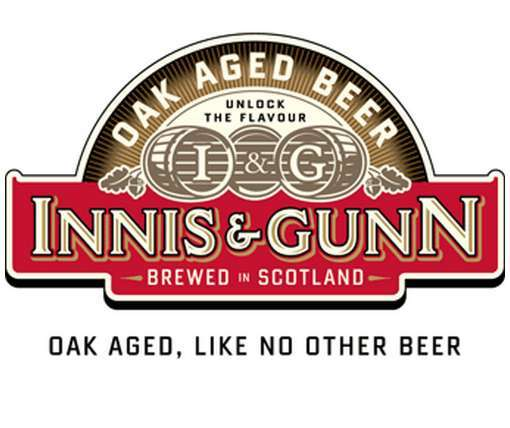 Innis & Gunn Rum Cask Oak Aged beer Label Full Size