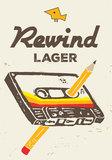 Birdsong Rewind Lager beer