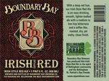 Boundary Bay Irish Red Beer