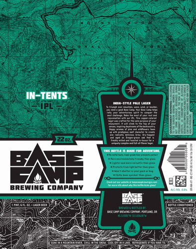 Base Camp In-Tents India Pale Lager Beer
