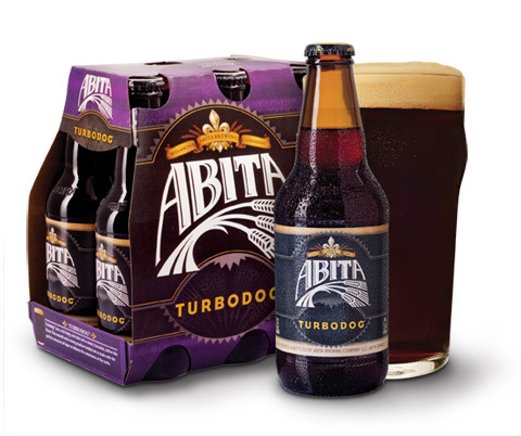 Abita Turbodog beer Label Full Size
