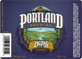 Portland Zig Zag Lager beer