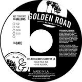 Golden Road It's Not Always Sunny in LA beer