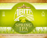 Abita Spring IPA Beer