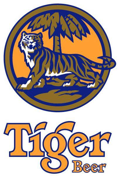 Tiger Beer beer Label Full Size