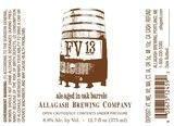Allagash FV13 Beer