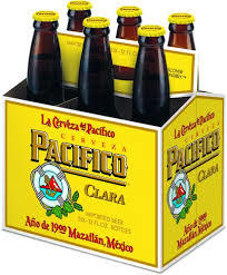 Pacífico Clara beer Label Full Size