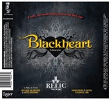 Relic Blackheart Lager Beer
