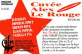 BFM Cuvee Alex le Rouge beer