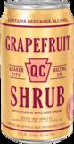 Quaker City Grapefruit Shrub beer