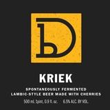 Dovetail Kriek beer