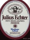 Julius Echter Hefe-Weissbier beer Label Full Size