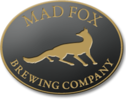 Mad Fox Leaded beer Label Full Size