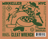 Mikkeller NYC x Industrial Arts Cleat Wrench beer