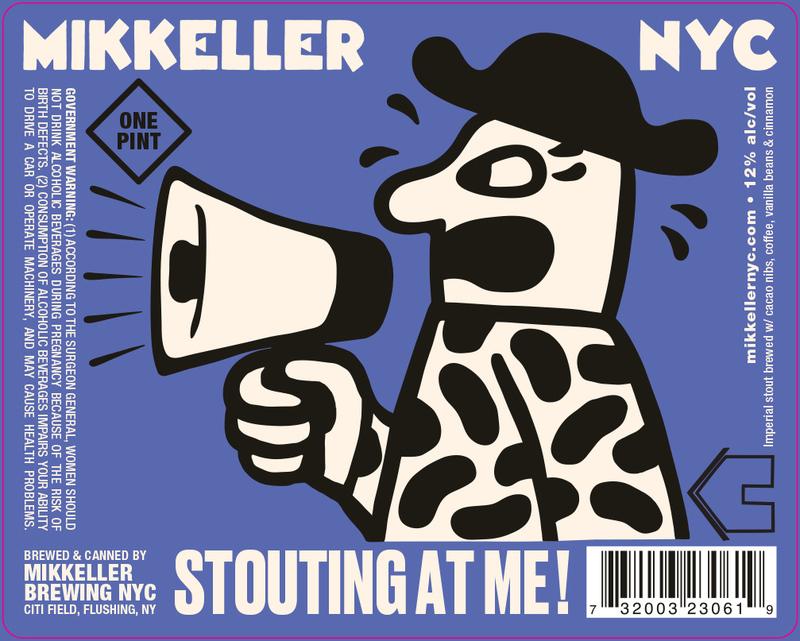 Mikkeller NYC x Casita Cerveceria Stouting At Me! beer Label Full Size