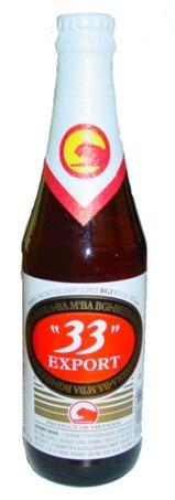 "Export ""33"" beer Label Full Size"