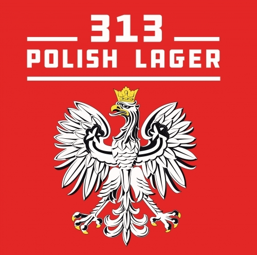 Grand River 313 Polish Lager beer Label Full Size