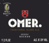 Bockor Omer Traditional Blond beer