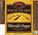 Saranac Chocolate Orange beer