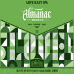 Almanac LOVE Hazy beer Label Full Size