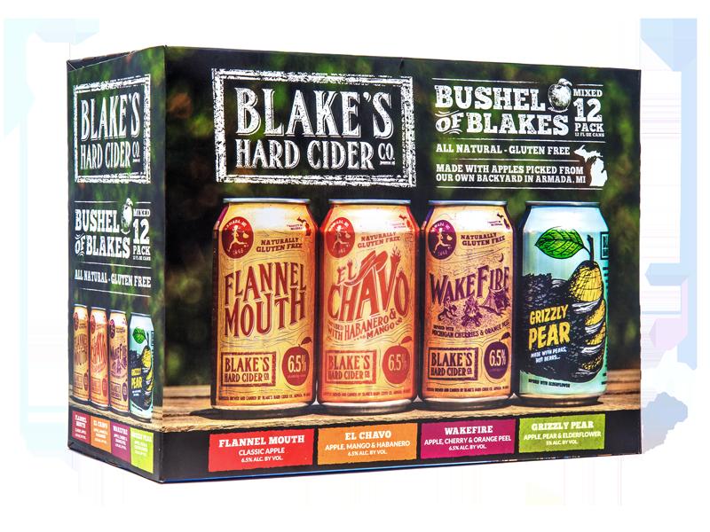 Blake's Bushel of Blakes beer Label Full Size