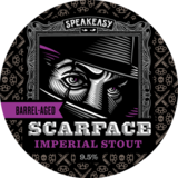 Speakeasy Barrel-Aged Scarface Imperial Stout beer