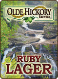 Olde Hickory Ruby Lager beer