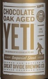 Great Divide Chocolate Oak Aged Yeti 2012 beer