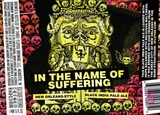 Three Floyds In The Name of Suffering beer