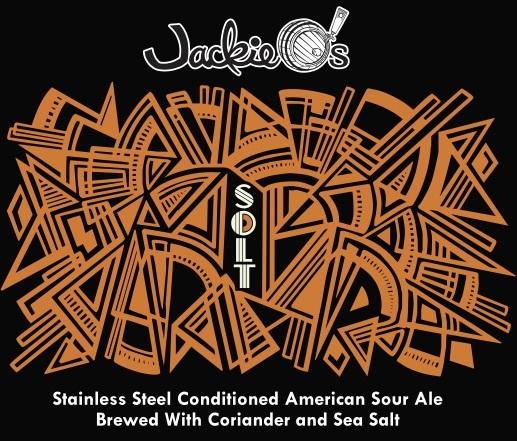 Jackie O's Solt beer Label Full Size