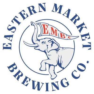 Eastern Market Brewing Company Détroit Is The New Black IPA beer Label Full Size