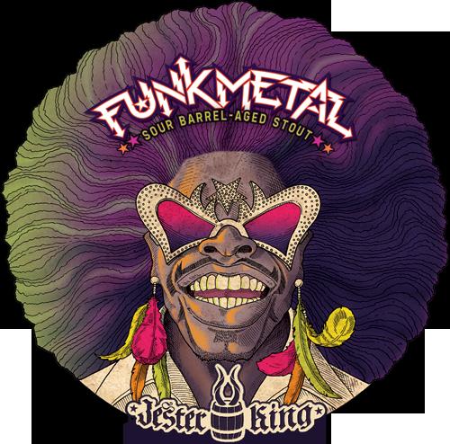 Jester King Funk Metal beer Label Full Size