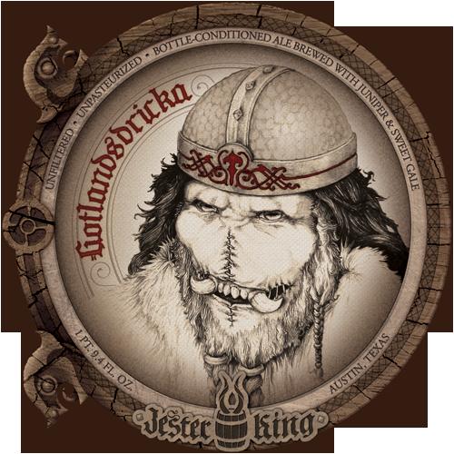 Jester King Gotlandsdricka beer Label Full Size