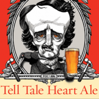 Baltimore Washington Beer Tell Tale Heart Ale beer Label Full Size