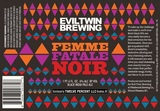 Evil Twin Femme Fatale Noir beer