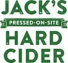 Hauser Jack's Hard Cider Rosé beer Label Full Size