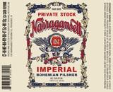 Narragansett Imperial Bohemian Pilsner beer